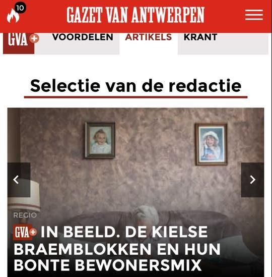 Tip van de GVA redactie - expo Groeten uit de Braemblokken