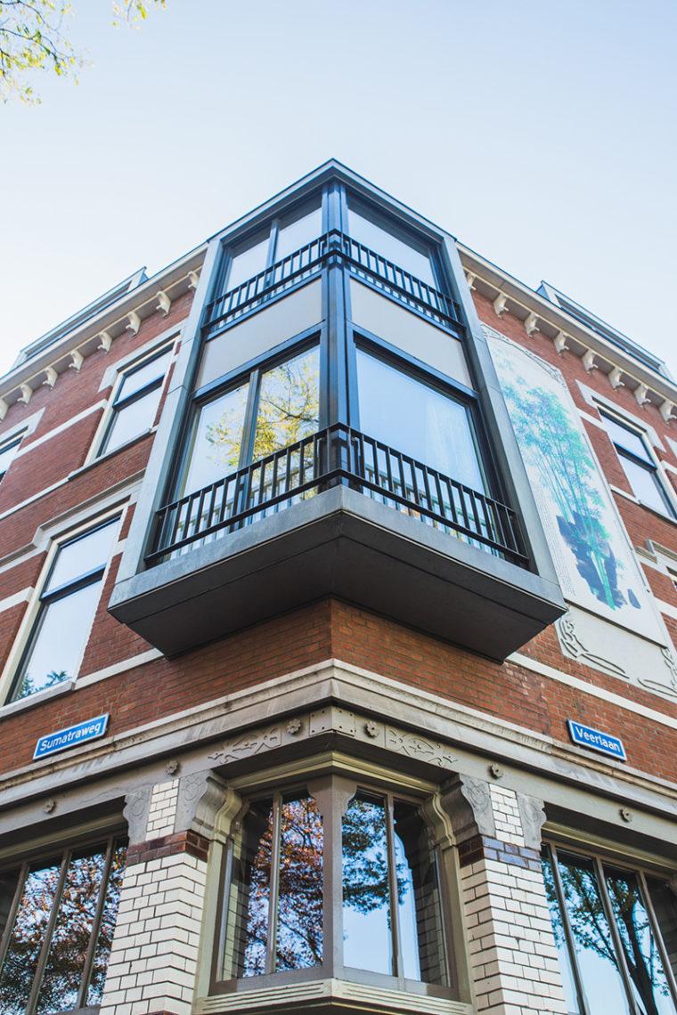 gebouw rotterdam, architectuur stad, vintage