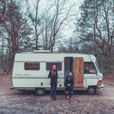Jelle Ana camperlife vanlife campervan roadtrip © Sacha Jennis