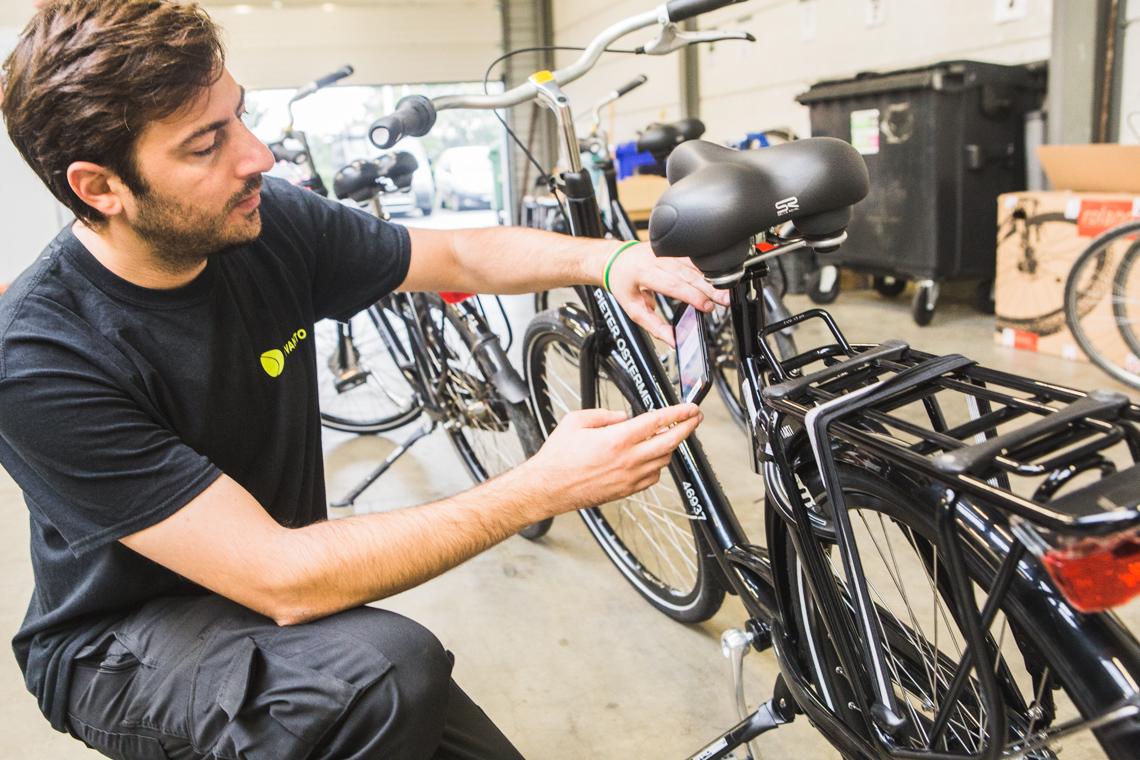 Levanto hersteldienst fietshaven - foto Sacha Jennis