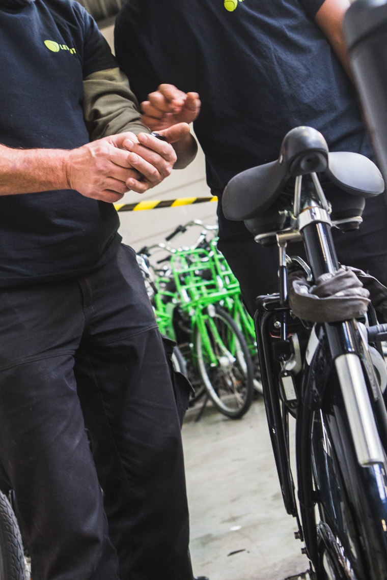 Levanto - scannen fiets foto ©Sacha Jennis