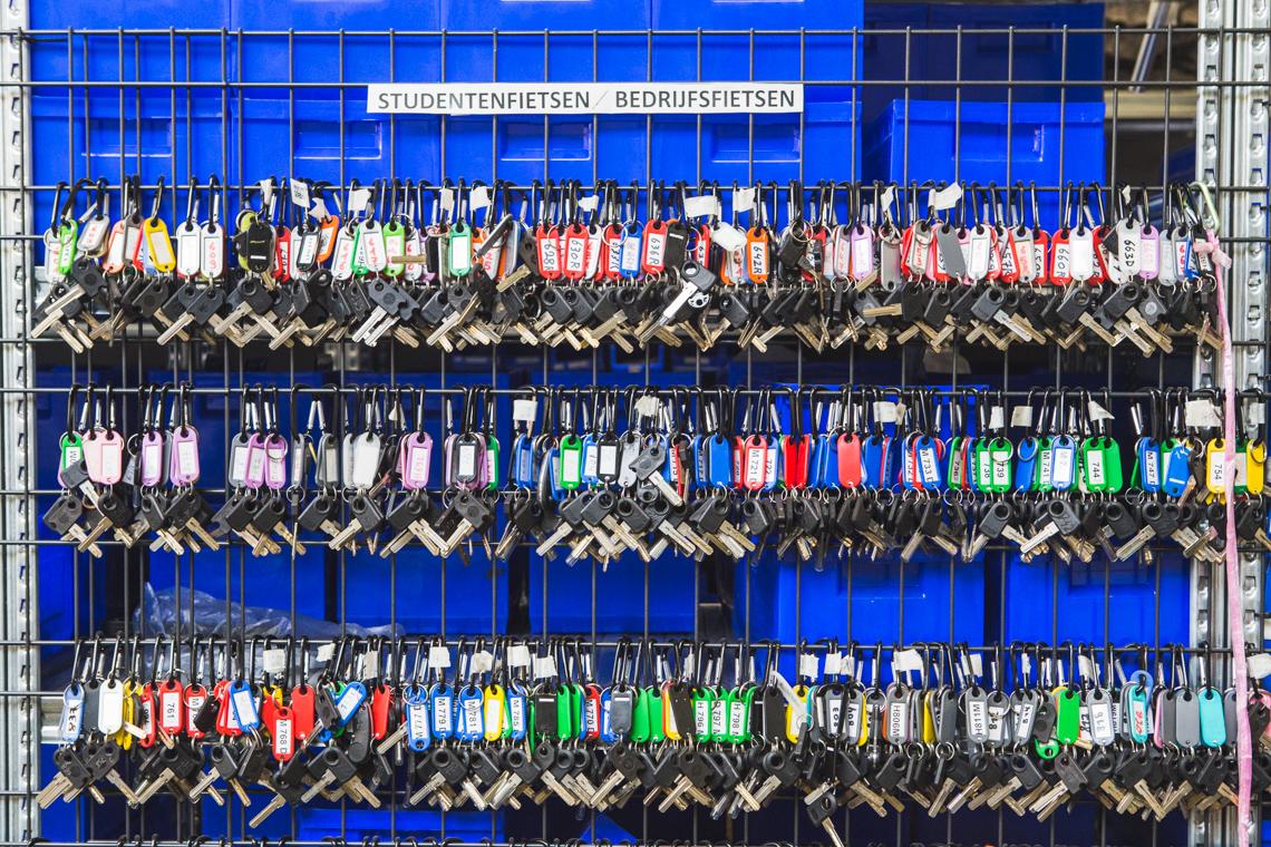 Levanto sleutels fietshaven