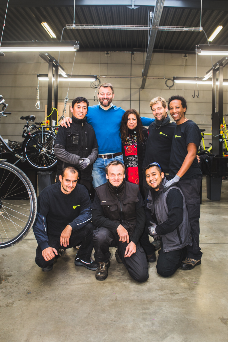 Levanto team fietshaven- foto ©Sacha Jennis