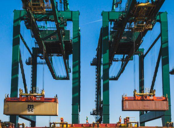 container traffic port of antwerp mac