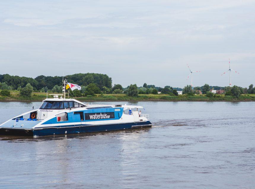 piloottocht waterbus antwerpen juli 2016