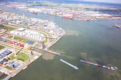 Boudewijnsluis Antwerpse haven
