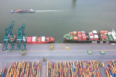 containerterminal Antwerpse haven