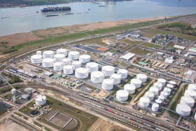chemie Antwerpse haven vopak opslag