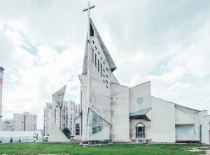 Brutalist architecture in Europe Architecture photograghy brutalism Sarajevo church