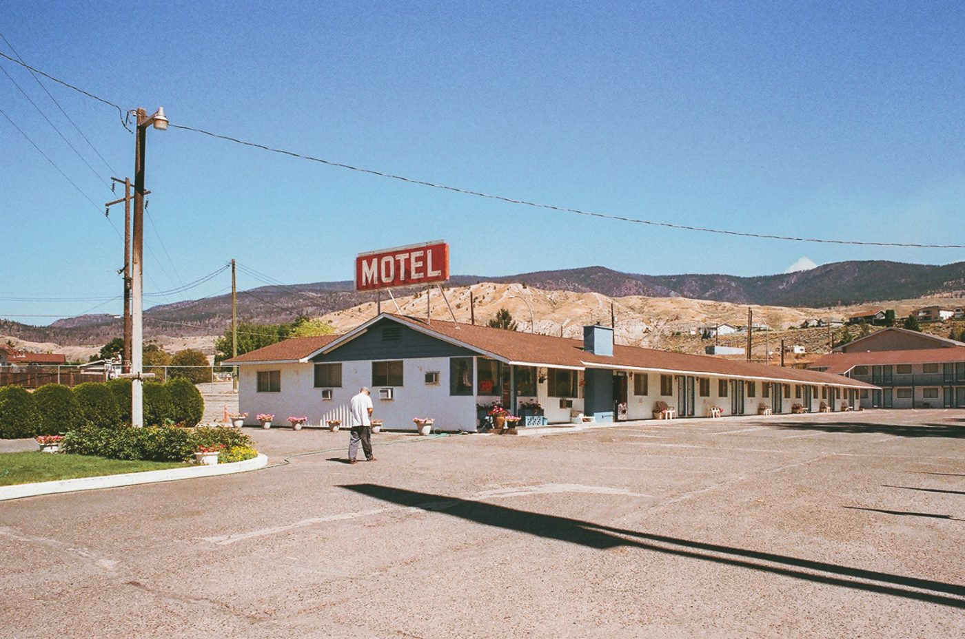 analog photo series on motels in Canada by Sacha Jennis