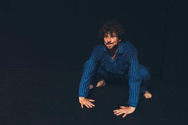 foto acteur sven verelst clown scènefoto portrait photo actor