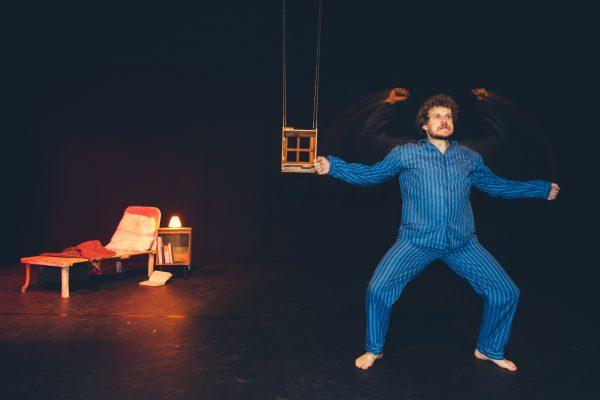 foto acteur sven verelst clown scènefoto
