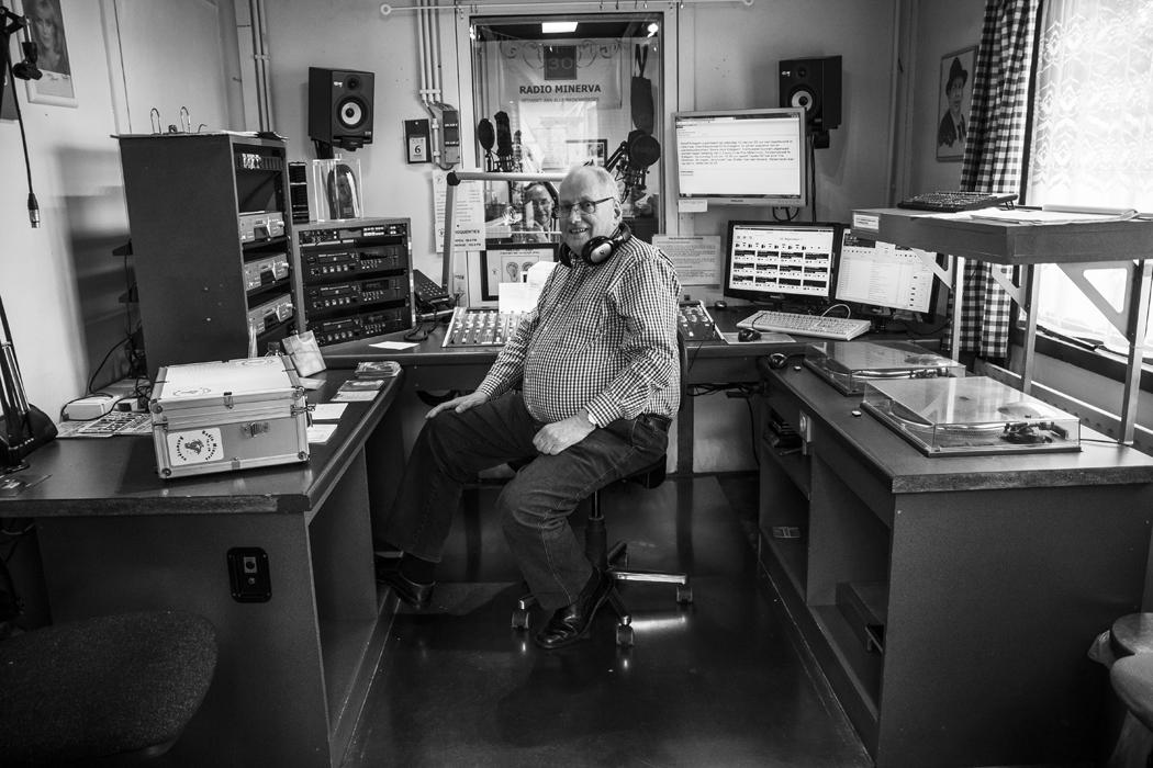 Eddy, programmamaker bij Radio Minerva