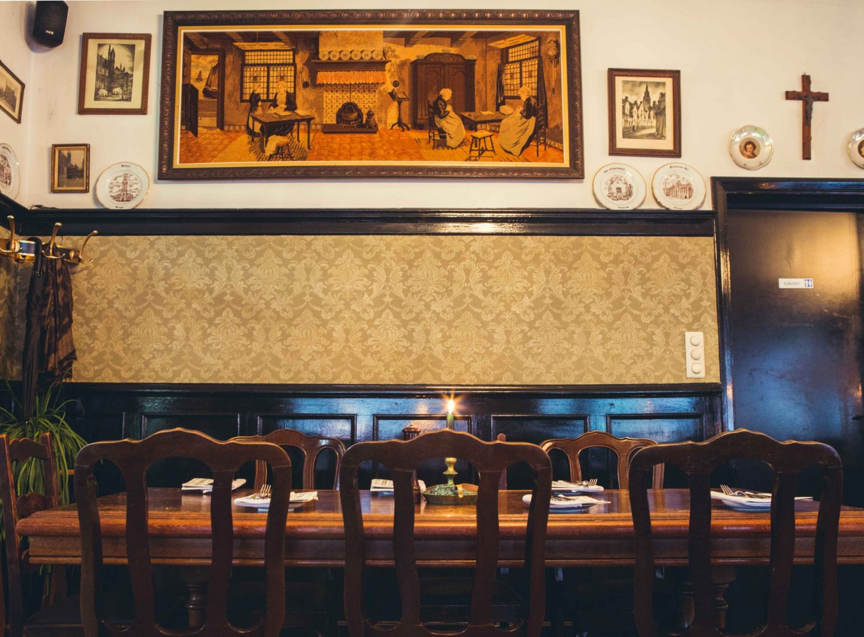 Brugge fotografie restaurant Begientje Sacha Jennis in opdracht Le Monde