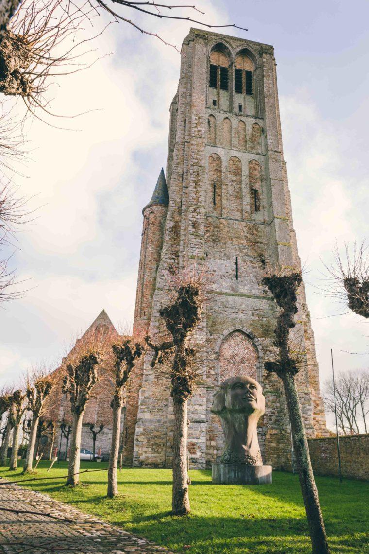 Brugge fotografie Notre Dame kerk Damme Sacha Jennis in opdracht Le Monde